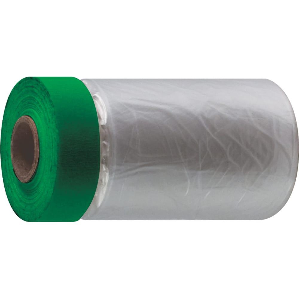 Купить Укрывная пленка с пвх-лентой, 270 см х 17 м, статически заряжена, 7 мкр. master color 30-7128