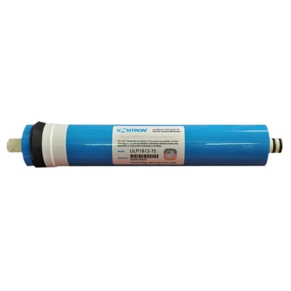 Обратноосмотическая мембрана vontron 1812 75 gpd аква