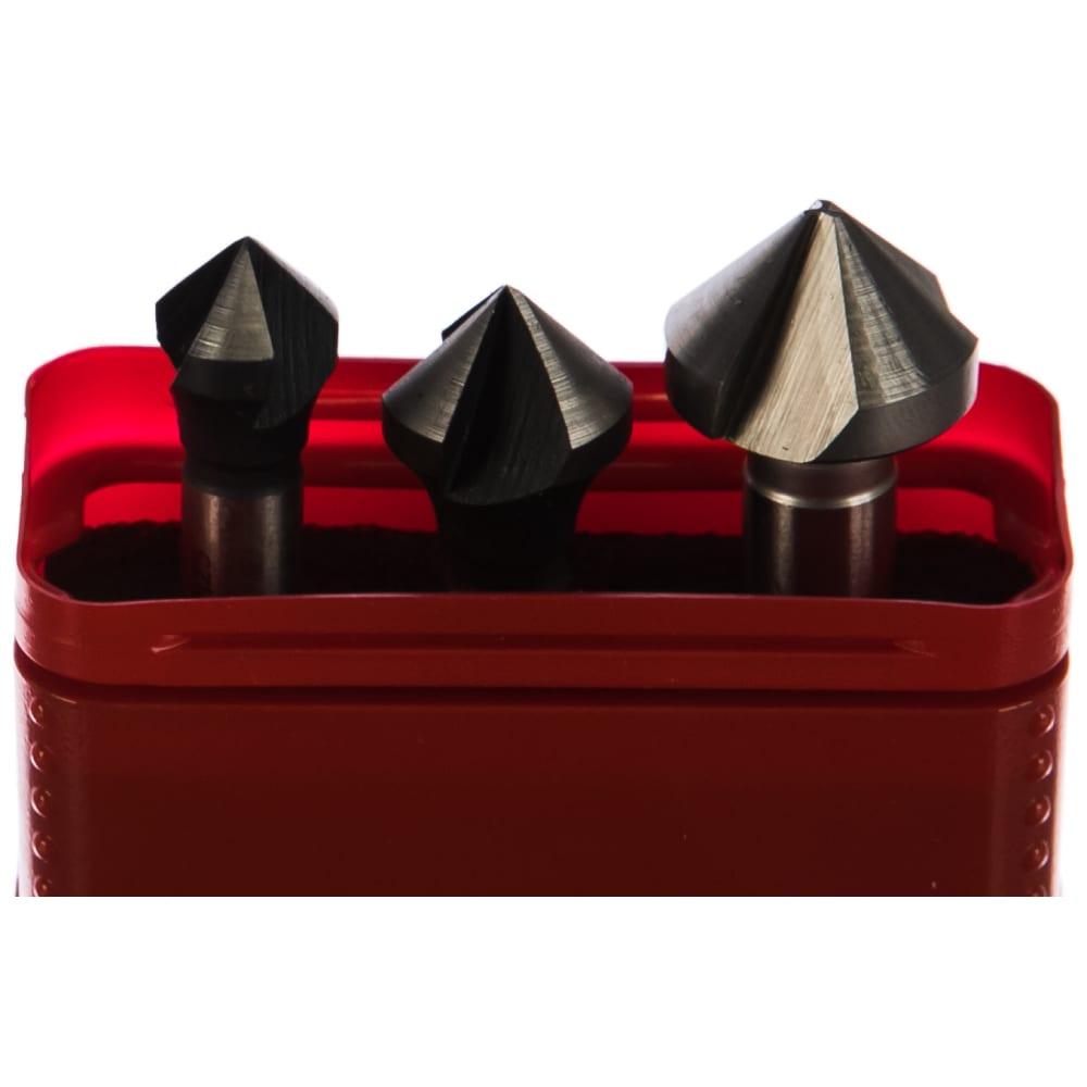 Набор из 3-х зенкеров (12, 16, 20) bucovice tools 741804
