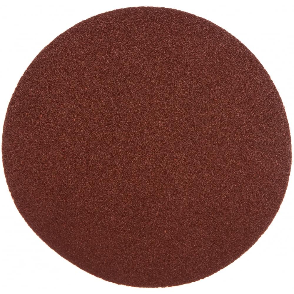 Купить Круг абразивный (5 шт; 125 мм; зерно 100; без отверстий; velcro) targ 663104