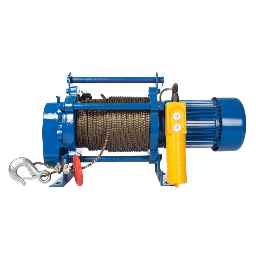 Купить Электрическая лебедка tor лэк-300 e21 (kcd) 300 кг, 220 в с канатом 70 м 1002129