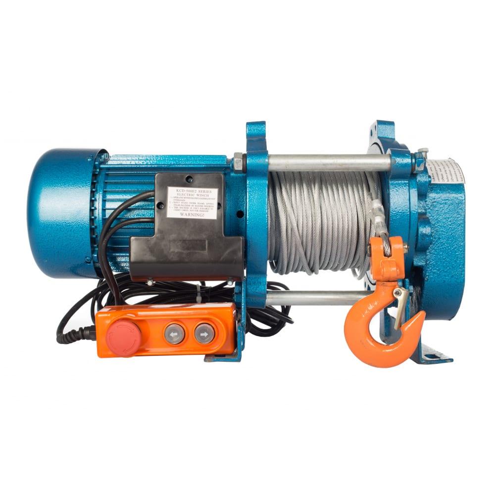 Купить Электрическая лебедка tor лэк-500 e21 (kcd) 500 кг, 220 в с канатом 30 м 1002131