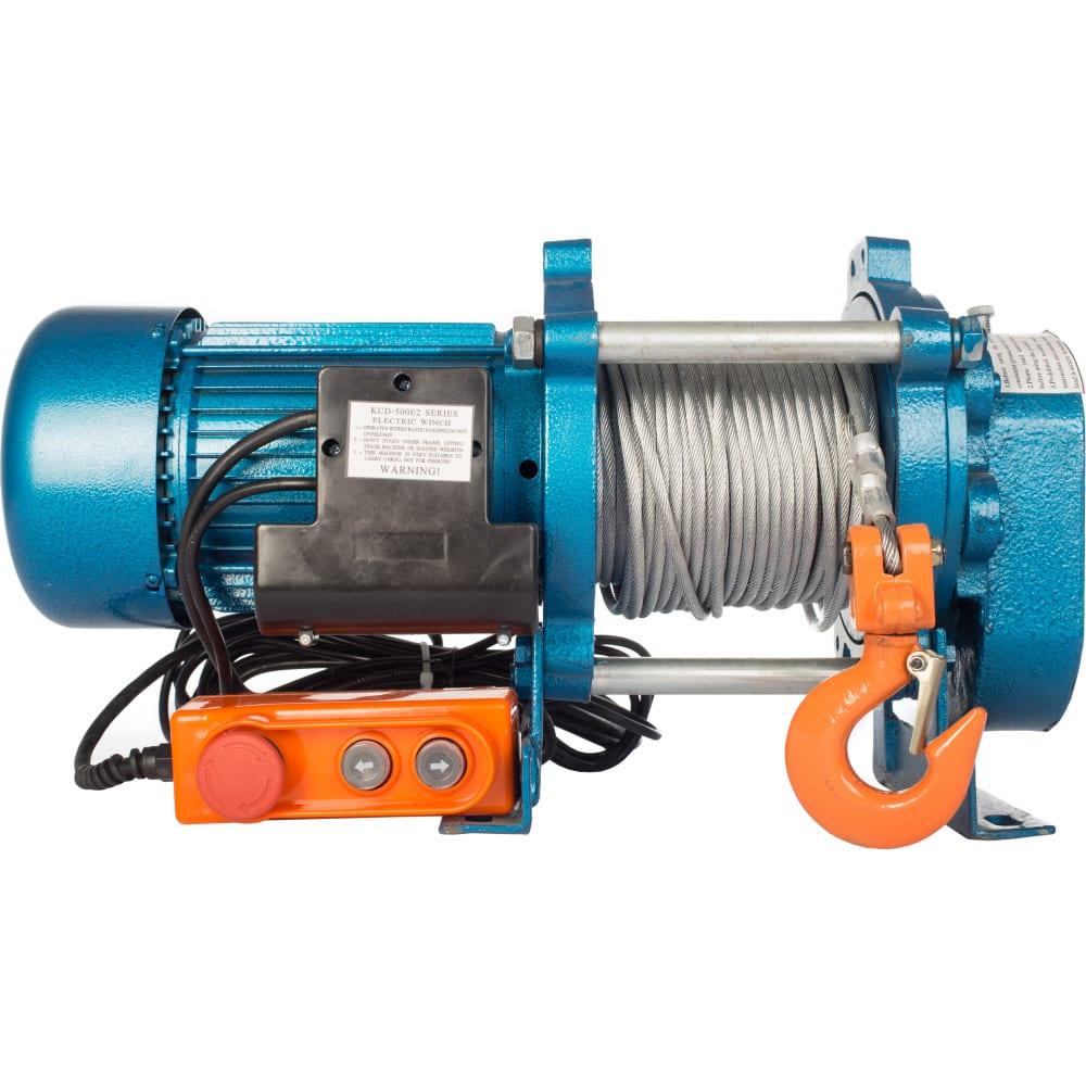 Купить Электрическая лебедка tor лэк-500 e21 (kcd) 500 кг, 220 в с канатом 70 м 1002132