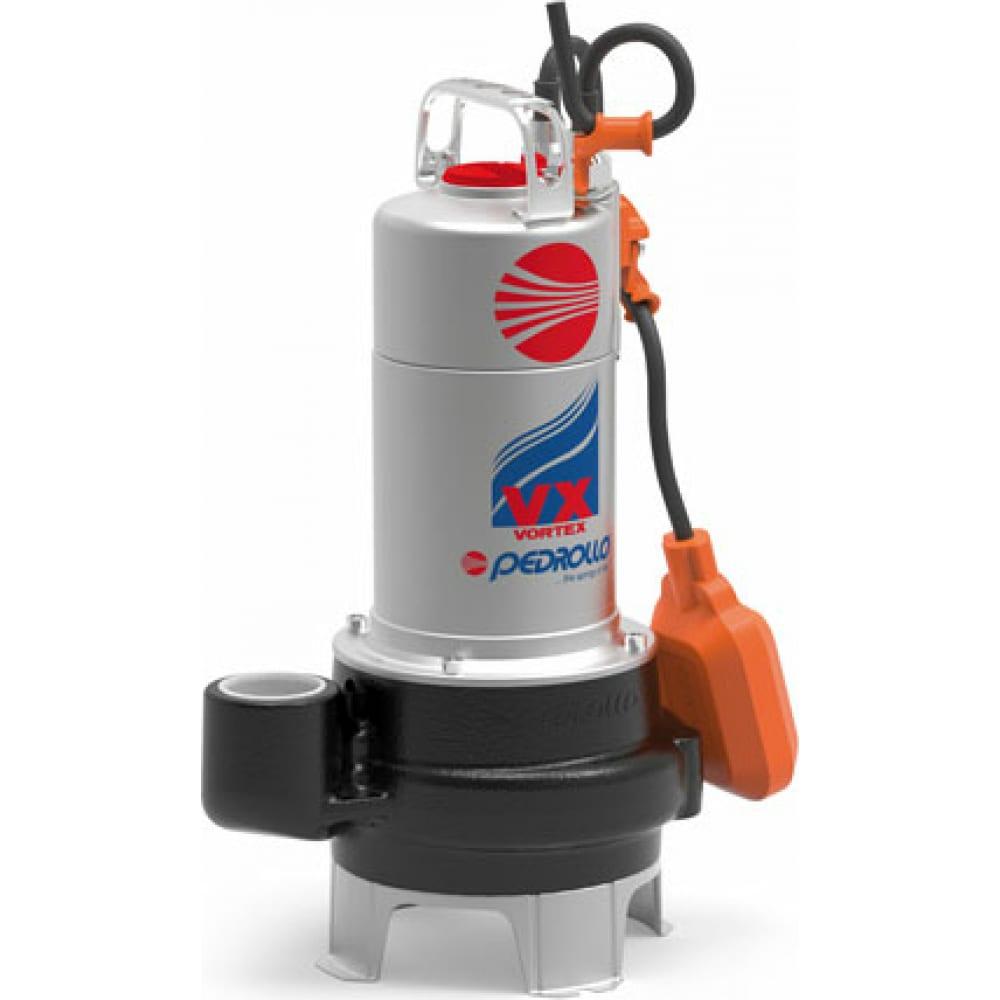 Дренажный насос для грязной воды pedrollo vxm 15/35-n 48sgv91b0a1u