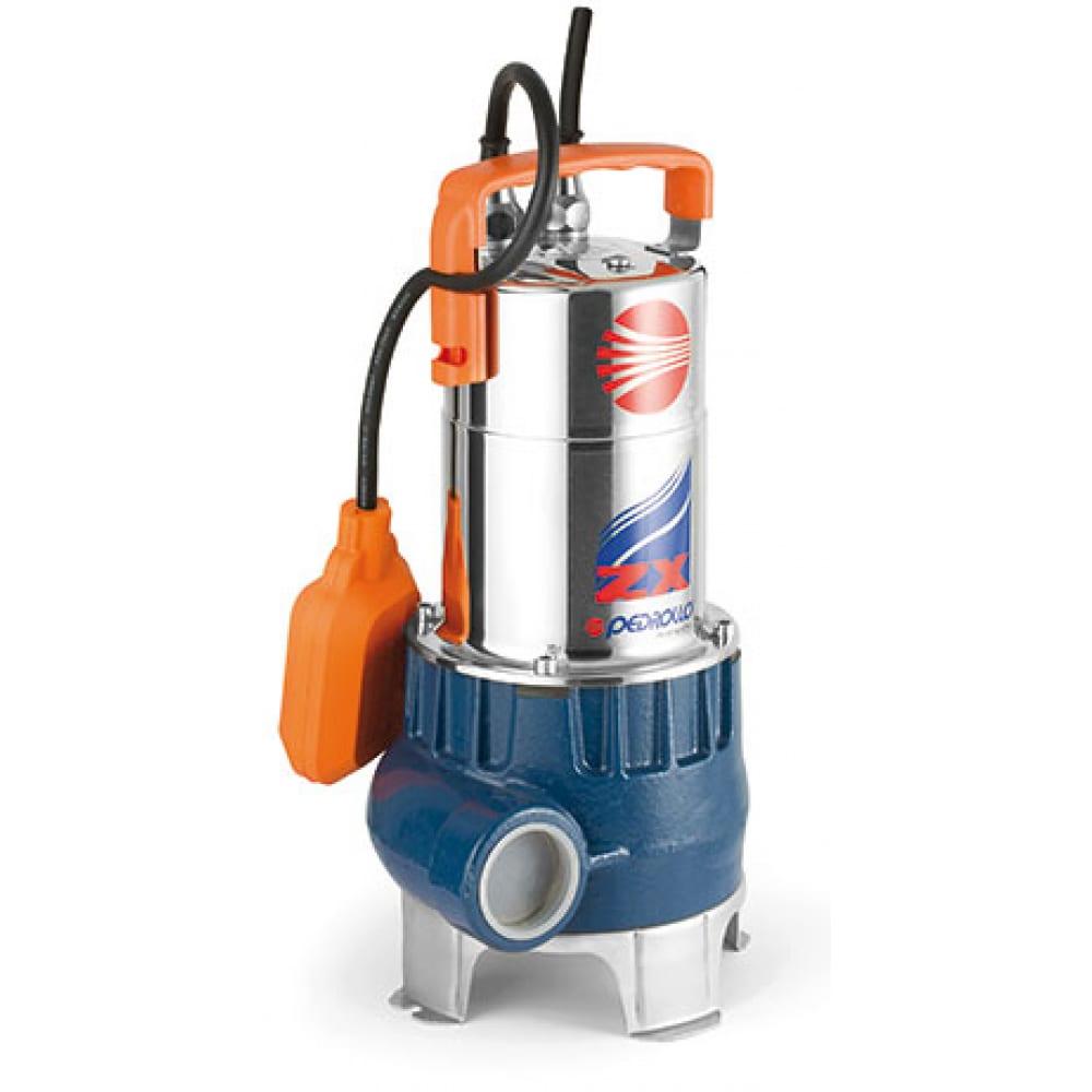 Дренажный насос для грязной воды pedrollo zxm/1b-40 48sdze4ba1u