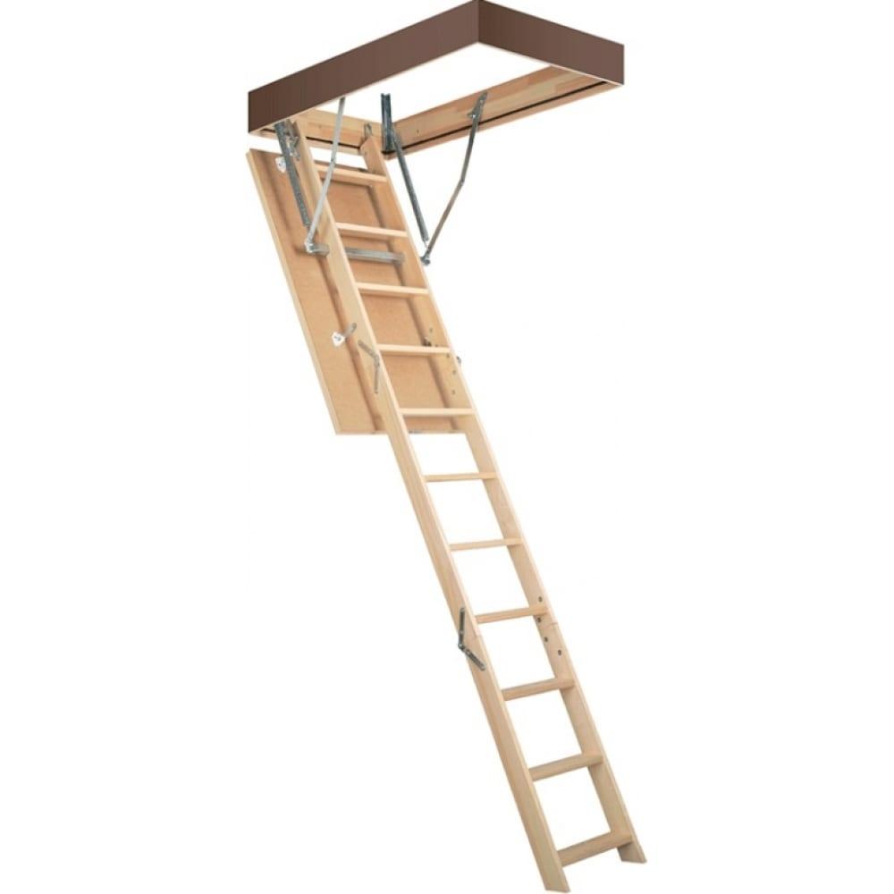 Чердачная лестница fakro smart 60х120 см, высота