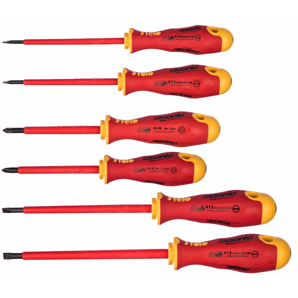 Купить Набор диэлектрических отверток 6 шт. felo ergonic 41396198