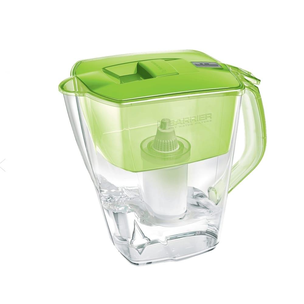 Фильтр-кувшин для очистки воды барьер прайм 4,2 л, цвет зеленое яблоко