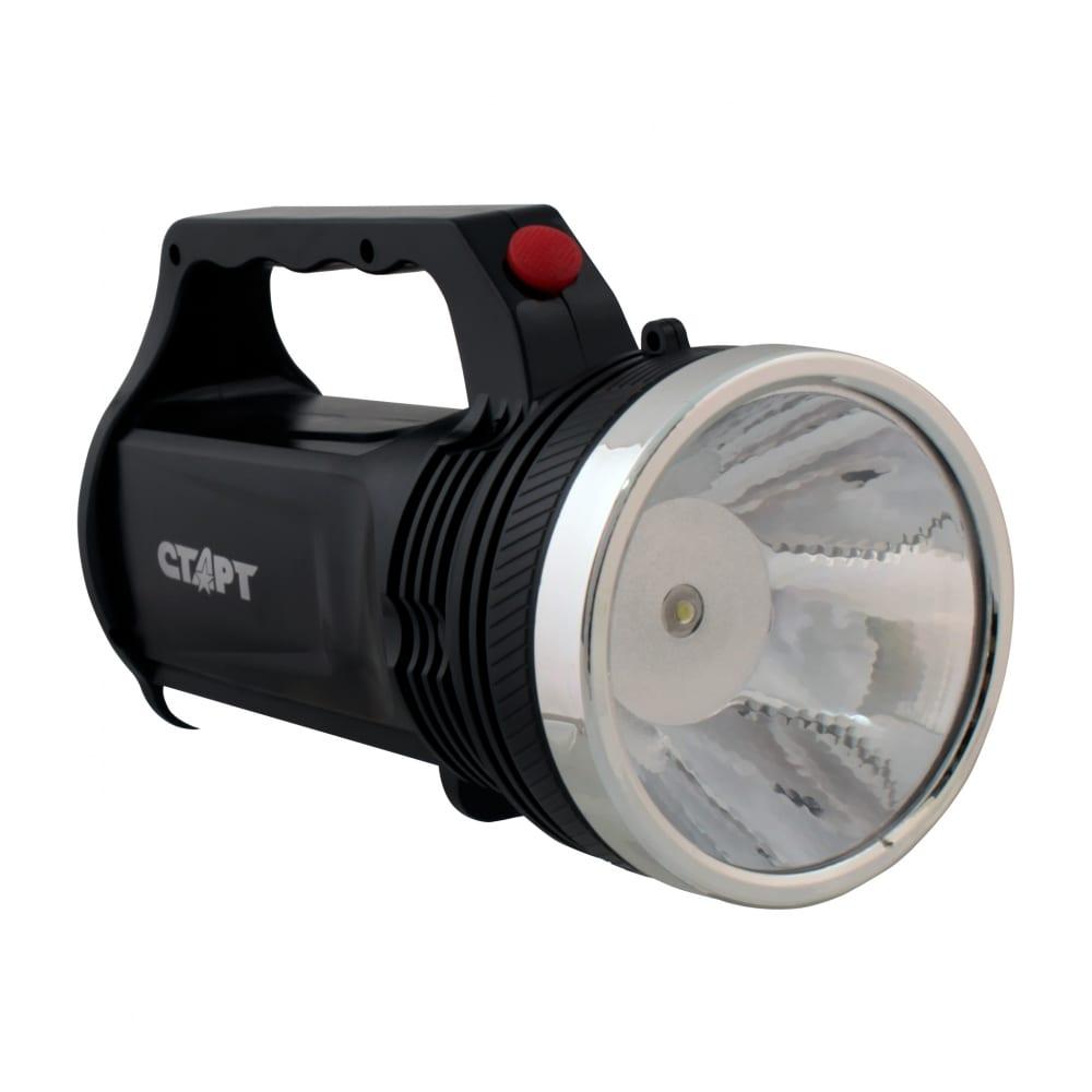 Купить Аккумуляторный фонарь с зарядкой от сети старт lhe 505-b1 black