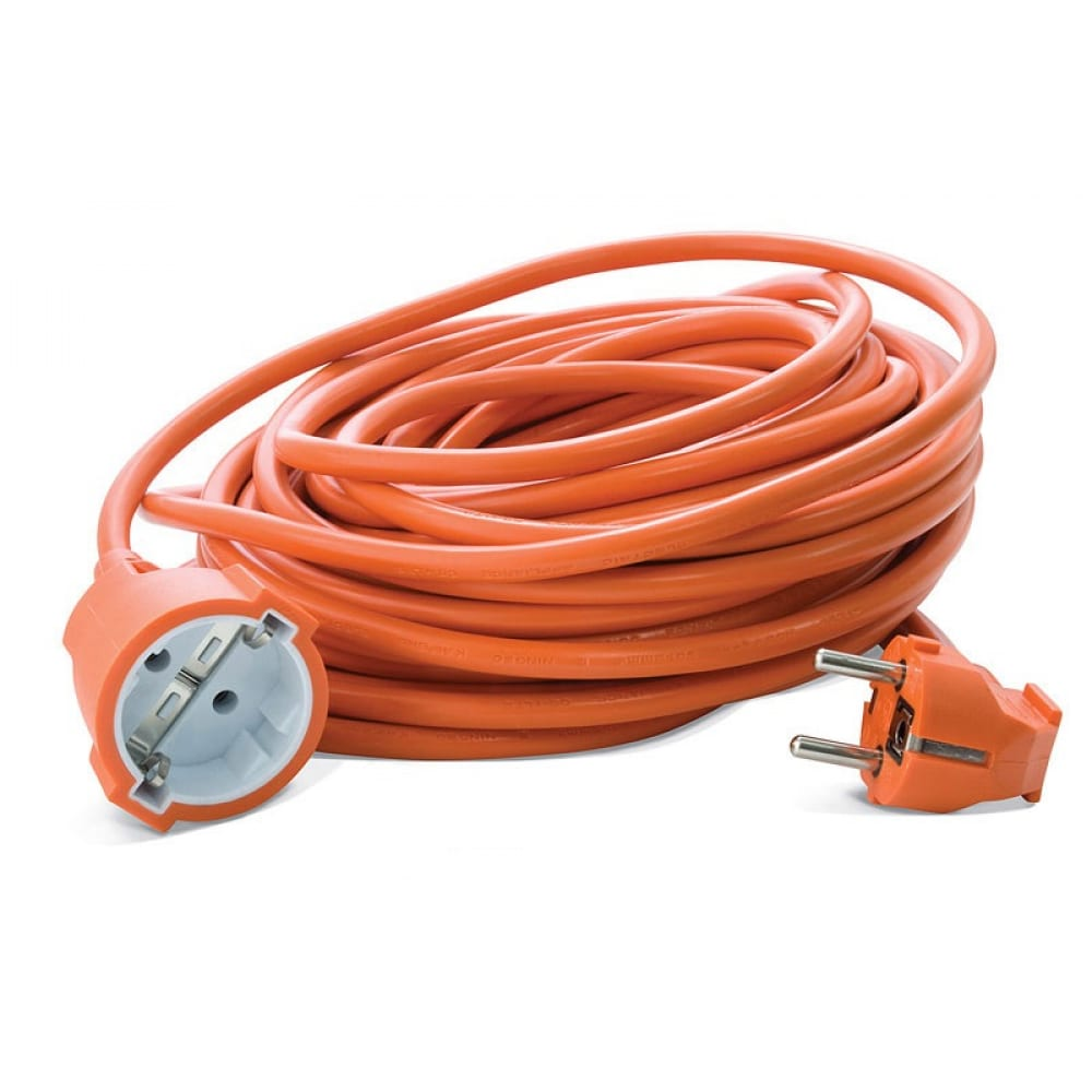 Удлинитель-силовой шнур пан электрик pek пвс 3х075 2200вт 10м c/з 1гн. 23673 3.