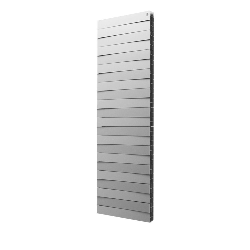 Радиатор royal thermo pianoforte tower/silver satin - 22 секции нс-1097958  - купить со скидкой