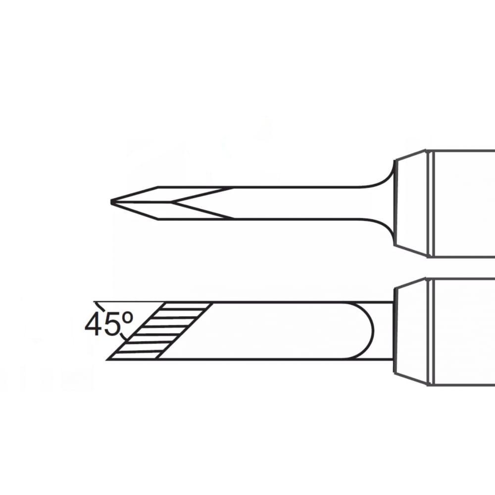 Наконечник (5х14 мм; ножевидный) для ps900
