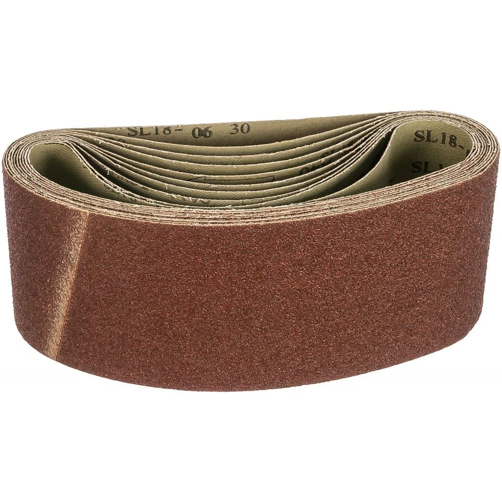 Купить Шлифовальные ленты лб 100х610 мм, а40, 14а, 10 шт. tsunami d76110061014040