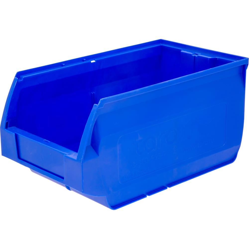 Ящик тара napoli 400х230х200 мм, синий 10039