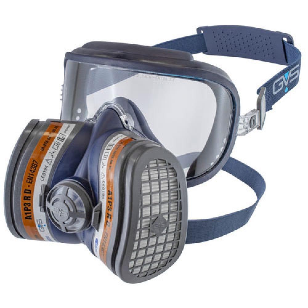 Респиратор полумаска с защитой зрения gvs elipse