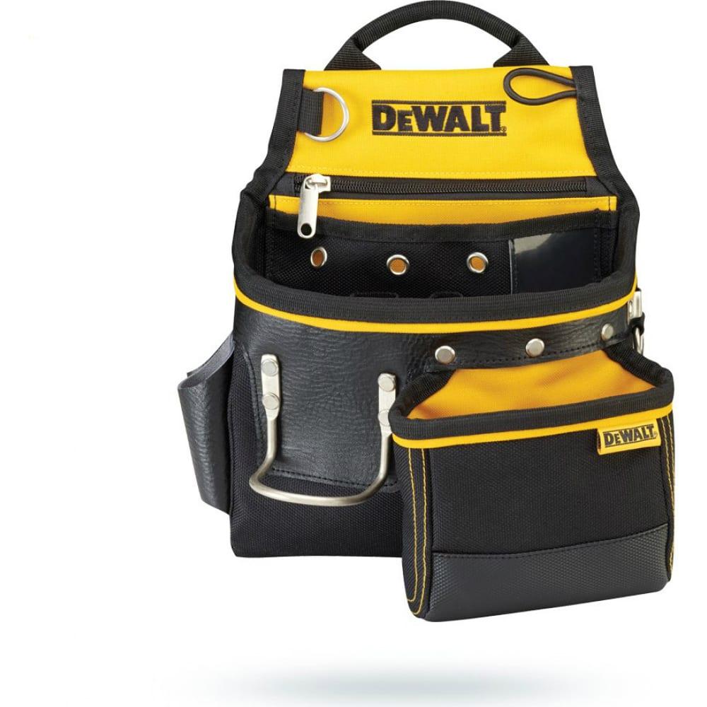 Поясная сумка для гвоздей и молотка dewalt dwst1-75652