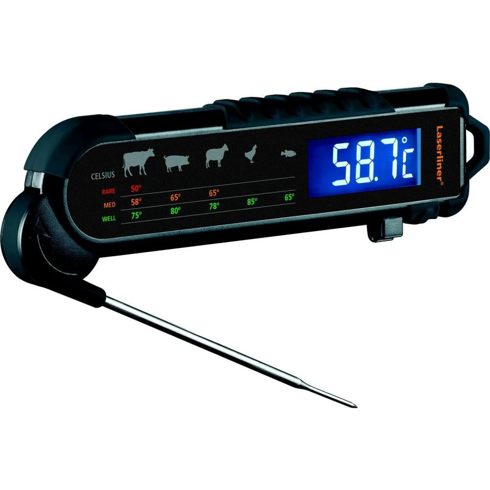 Профессиональный прибор для определения температуры и степени прожарки laserliner thermomaitre 082.029a