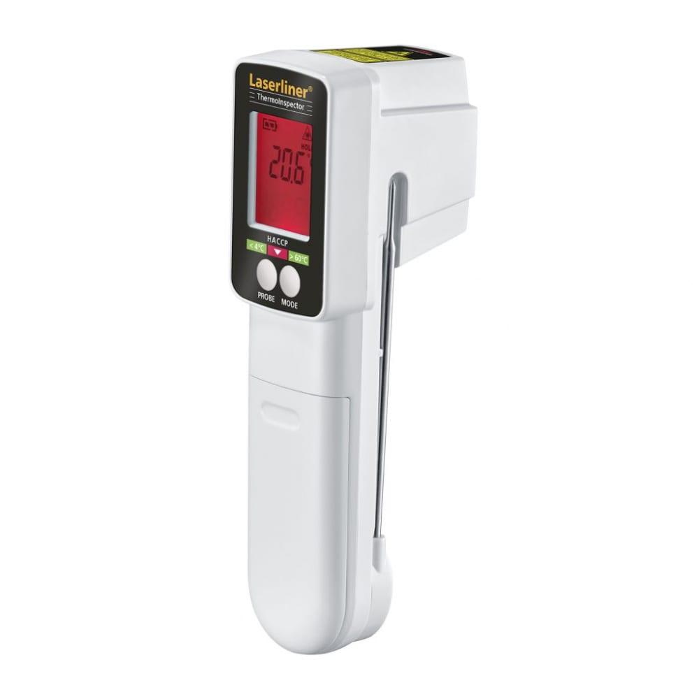 Профессиональный мультисенсорный термометр laserliner thermoinspector 082.037a