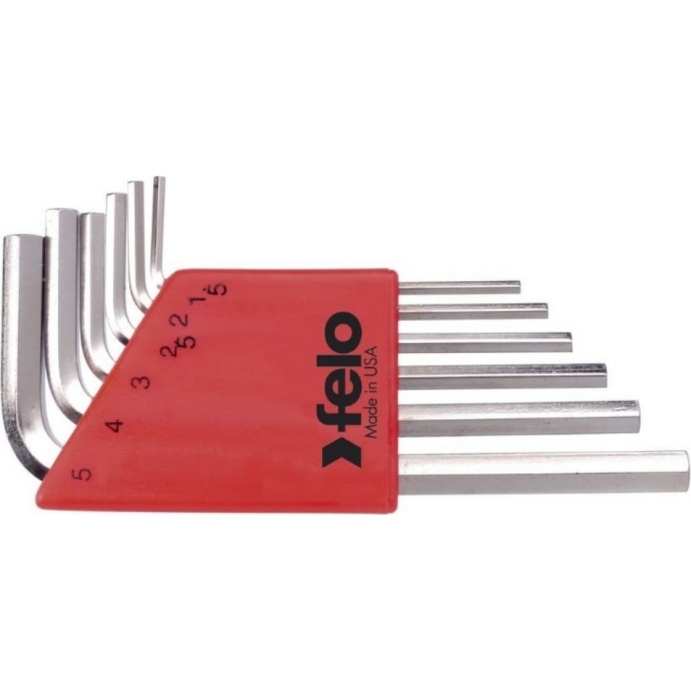 Купить Набор шестигранных ключей 6 шт. felo 34500601