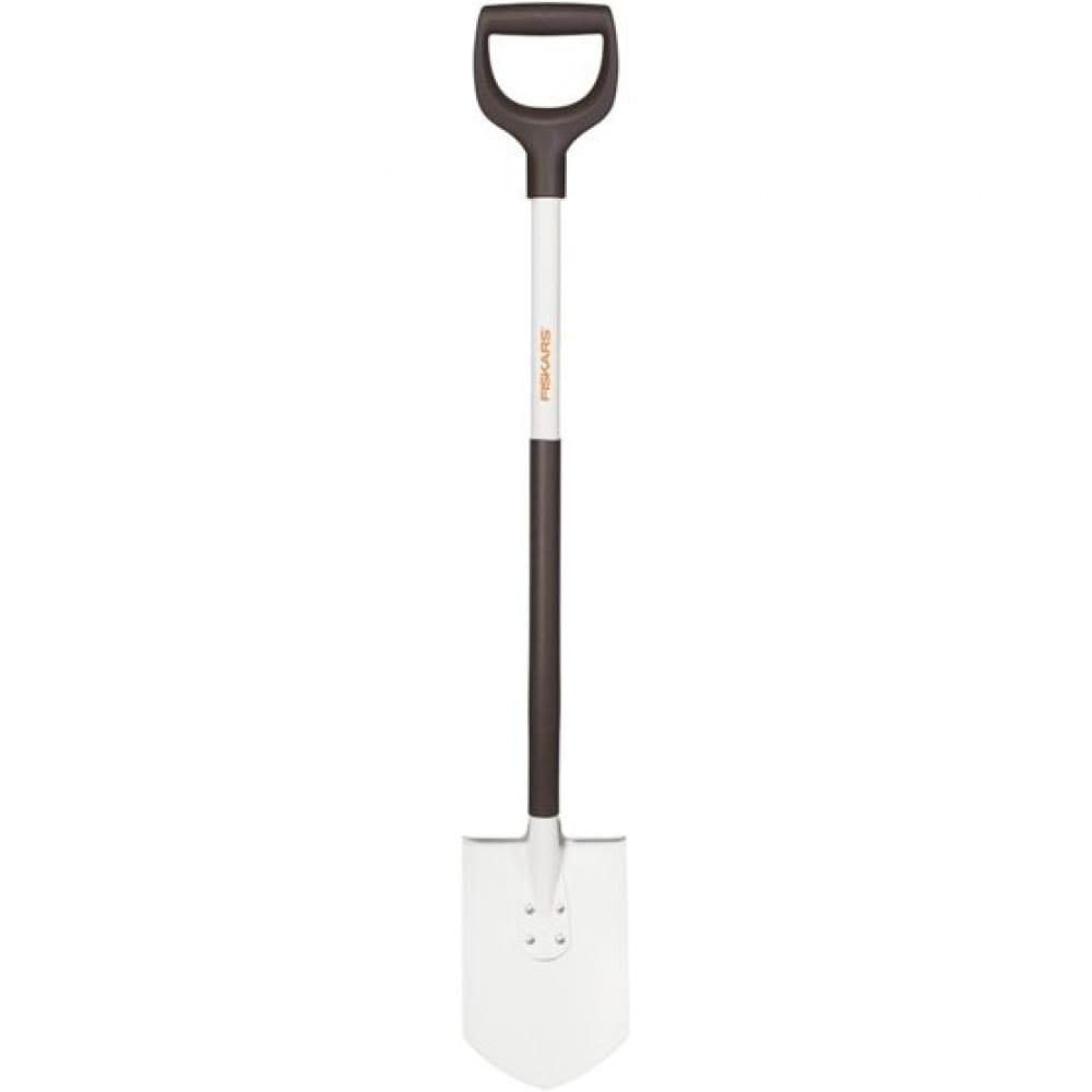 Облегченная штыковая лопата fiskars 1019605