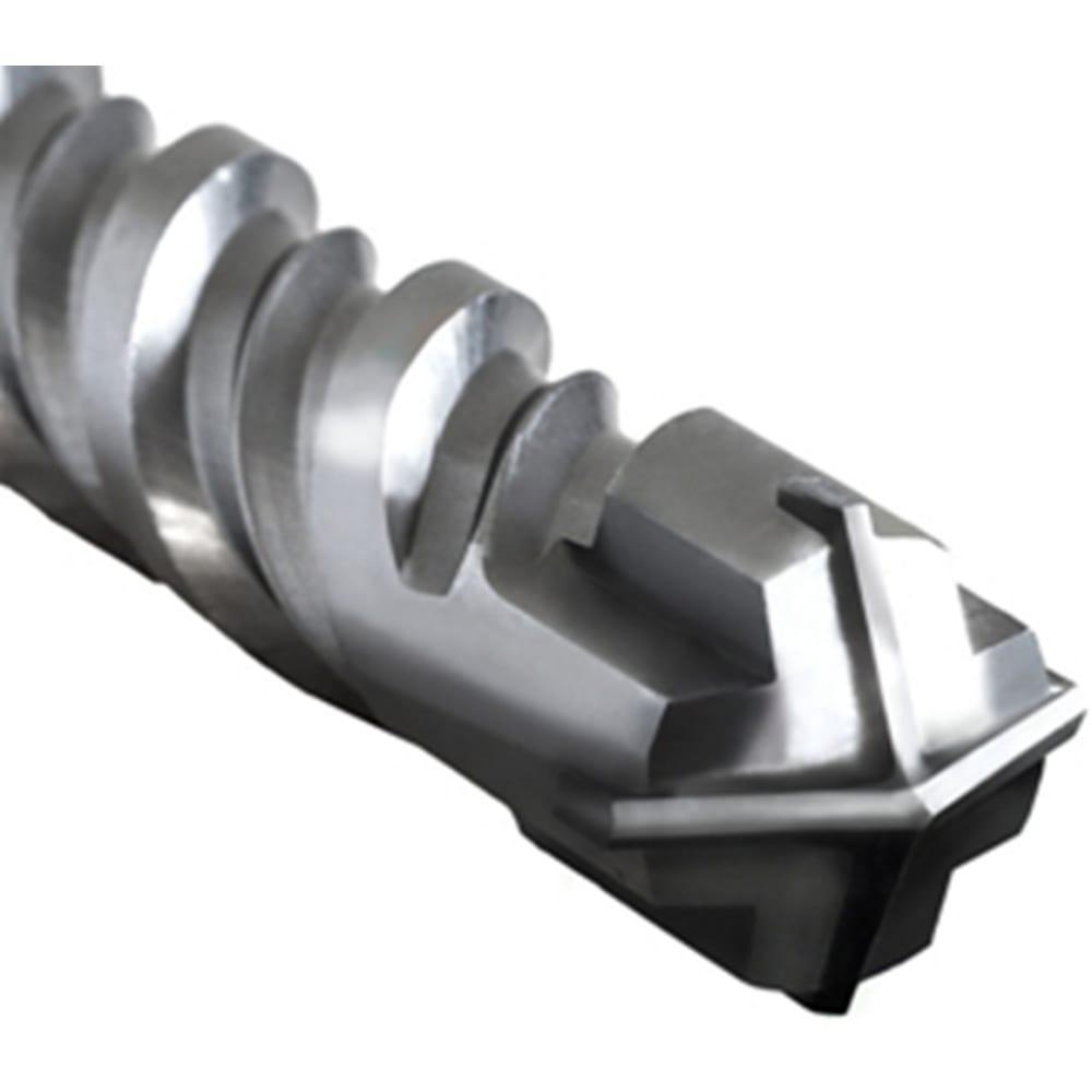 Купить Квадробур с двойной спиралью по бетону (14x210 мм; sds+) elitech 1820.084000