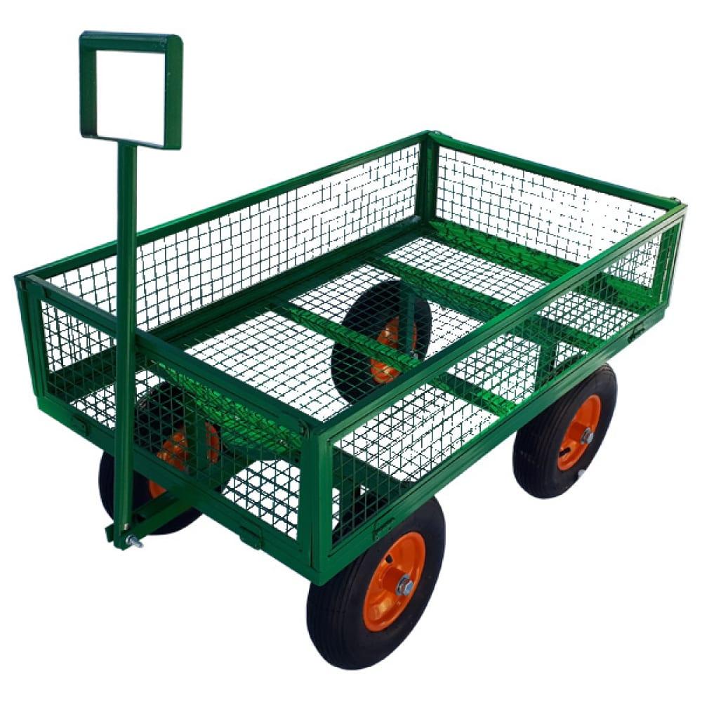 Тележка с откидными бортами sadovodcart садовод