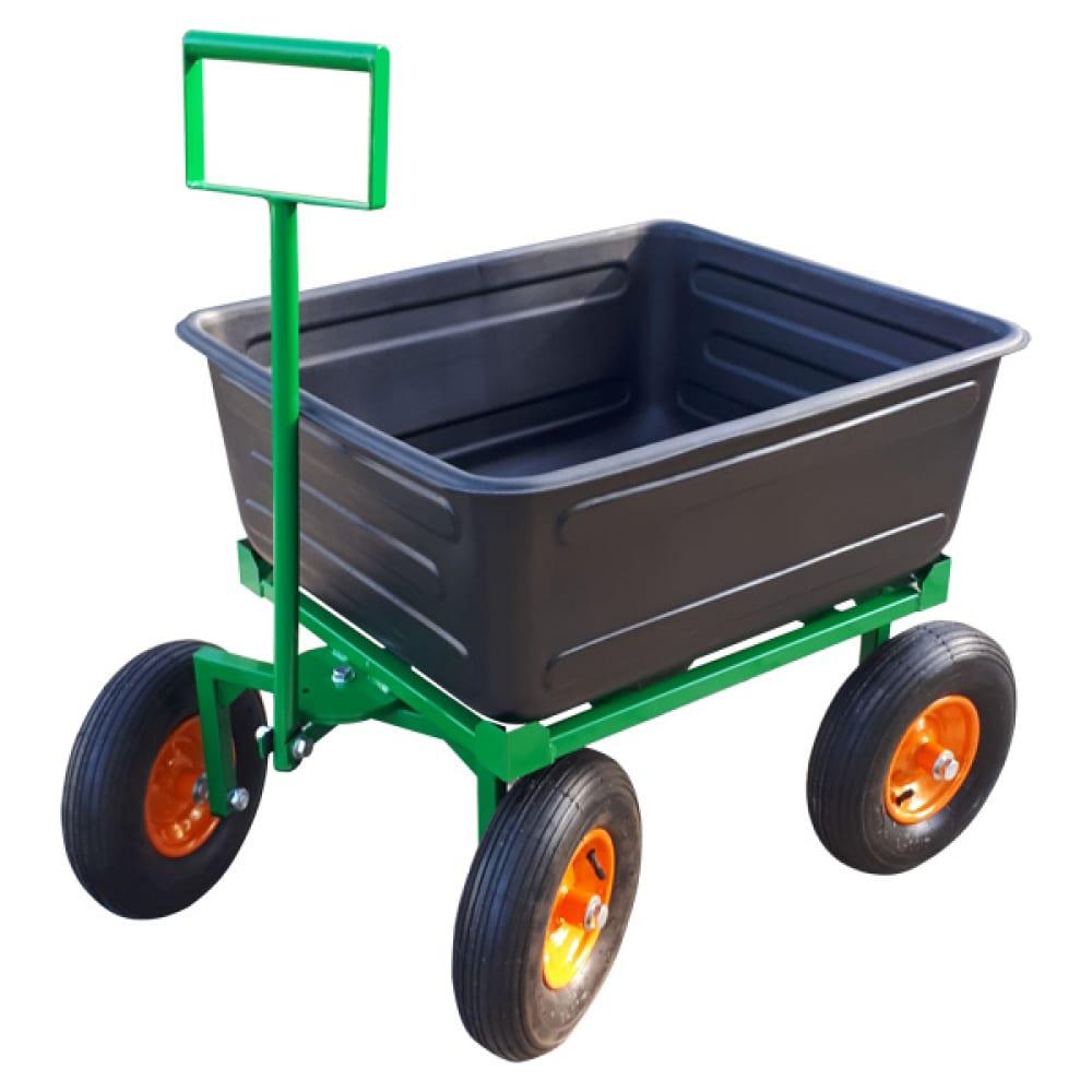 Тележка с пластиковым баком sadovodcart садовод