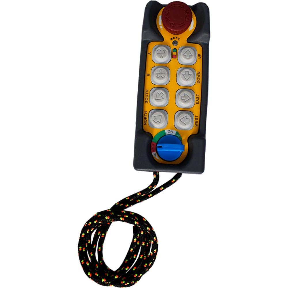 Пульт для радиоуправления, 8 кнопок, telecrane
