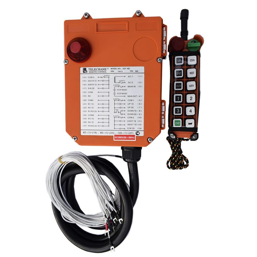 Радиоуправление, 10 кнопок, а25 10d telecrane 00005045