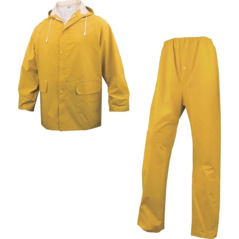 Влагозащитный костюм delta plus en304 желтый, р. m en304jatm2