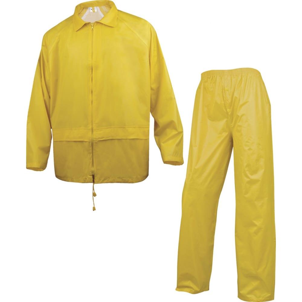 Влагозащитный костюм delta plus en400 желтый, р. xxl en400jaxx