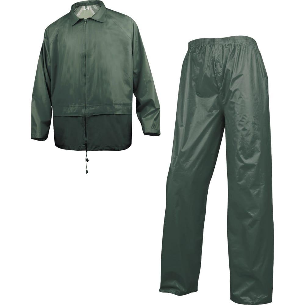 Влагозащитный костюм delta plus en400 зеленый, р. xxl en400vexx