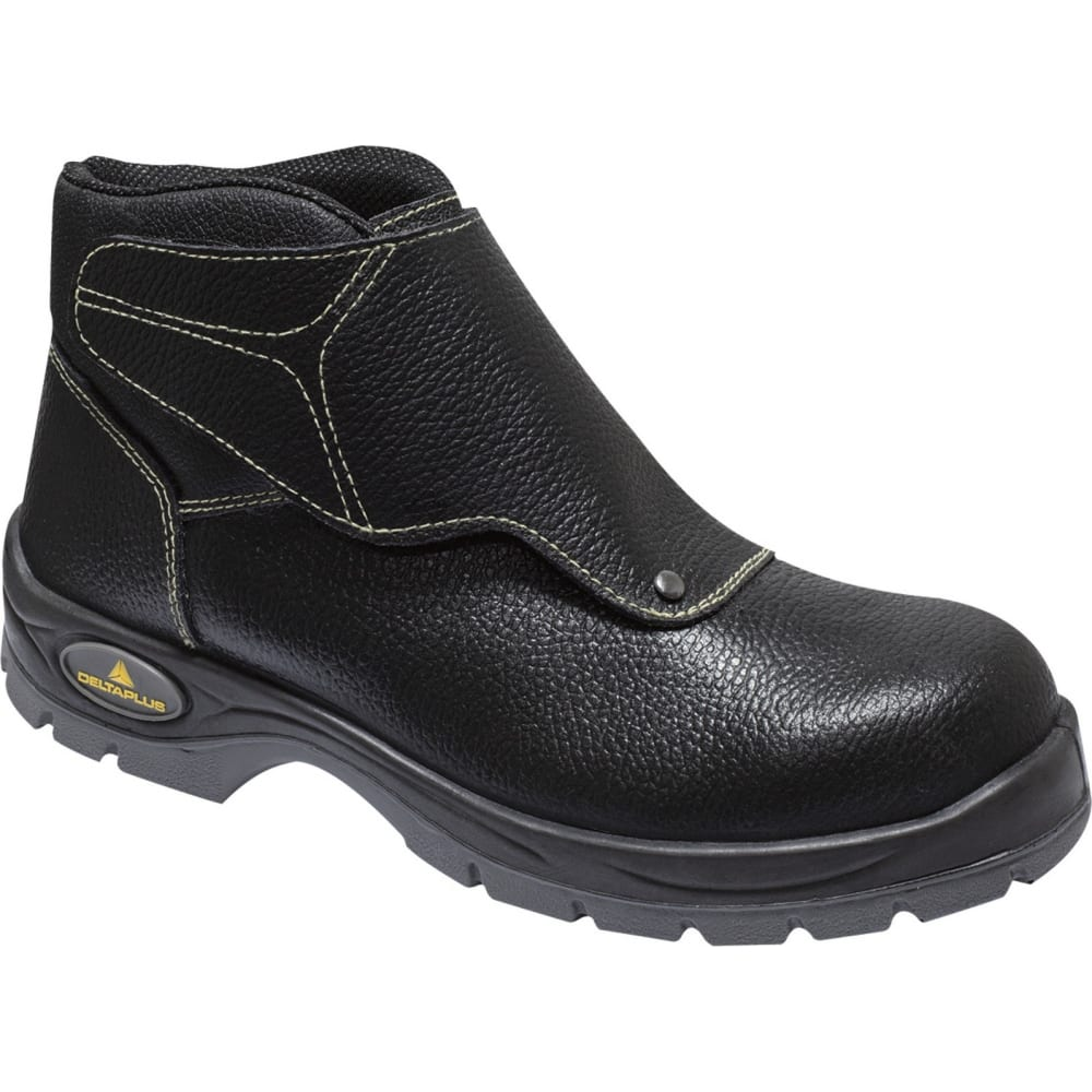 Купить Ботинки из пигментированной кожи с защитным клапаном delta plus cobra s3 р.42 cobr3s3no42