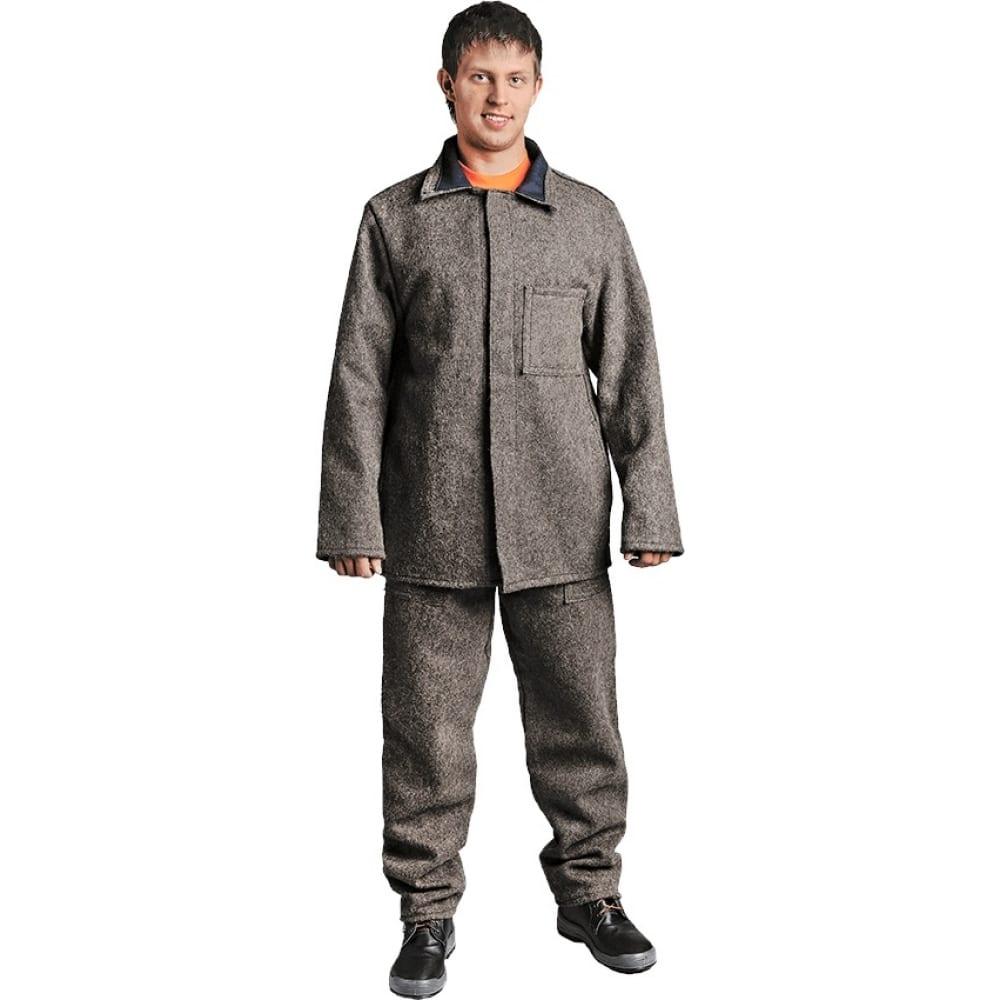 Суконный костюм аккумуляторщика гк спецобъединение кщс р.88-92, рост 182-188 кос 019/ 88/182