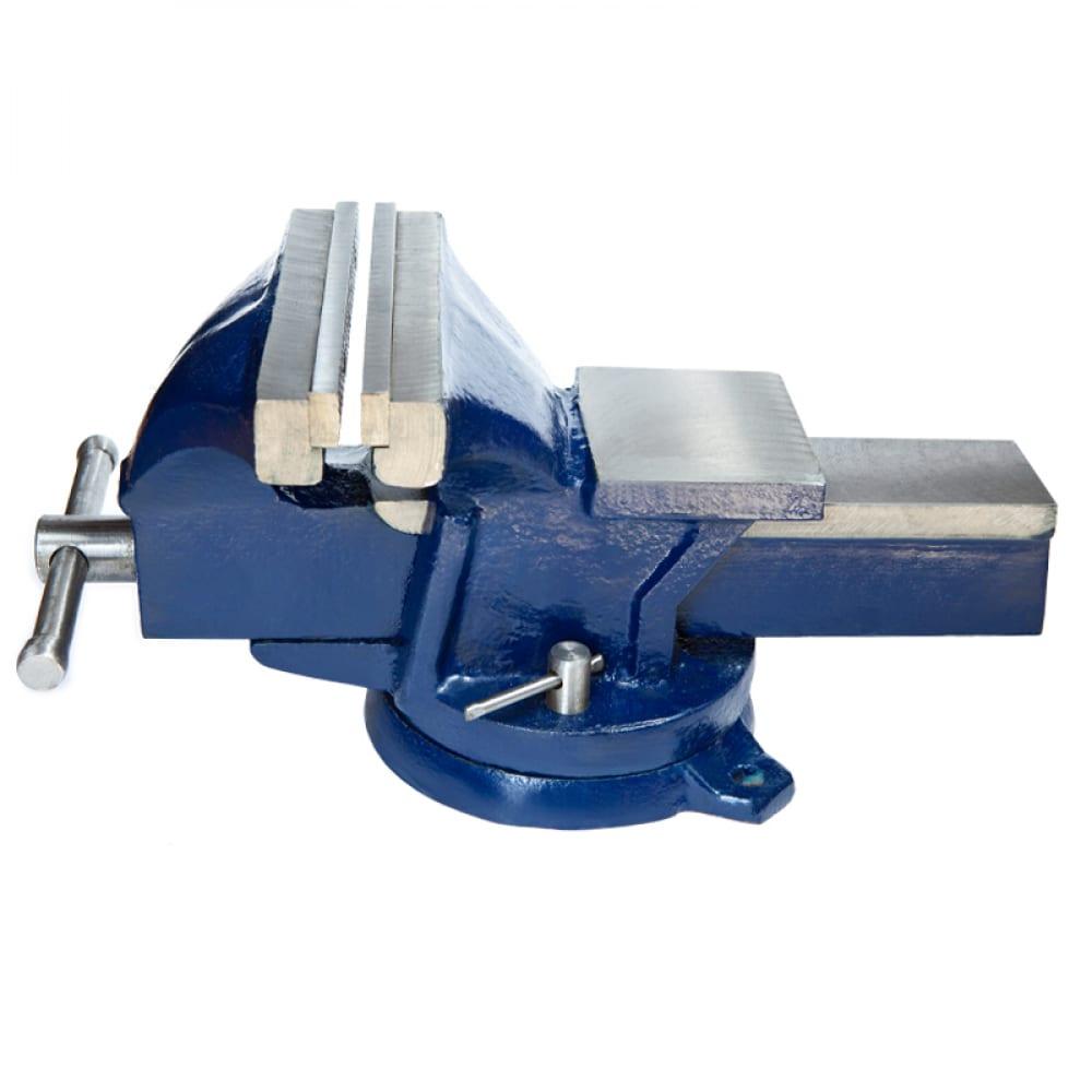 Купить Слесарные тиски 75 мм, поворотные, стальные, с наковальней 4.5кг griff g164002