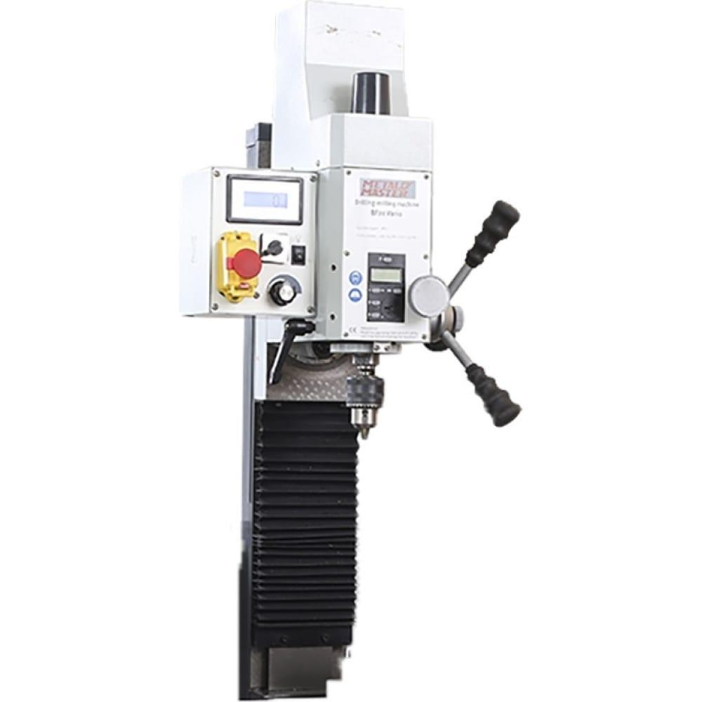 Сверлильно-фрезерная приставка metalmaster bf20 vario 15840
