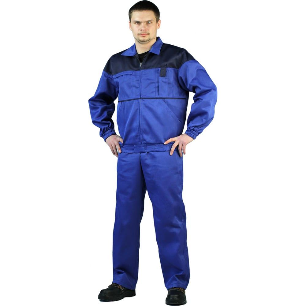 Купить Мужской костюм ursus рейнир васильковый/темно-синий, размер 56-58, рост 170-176 кос591-031