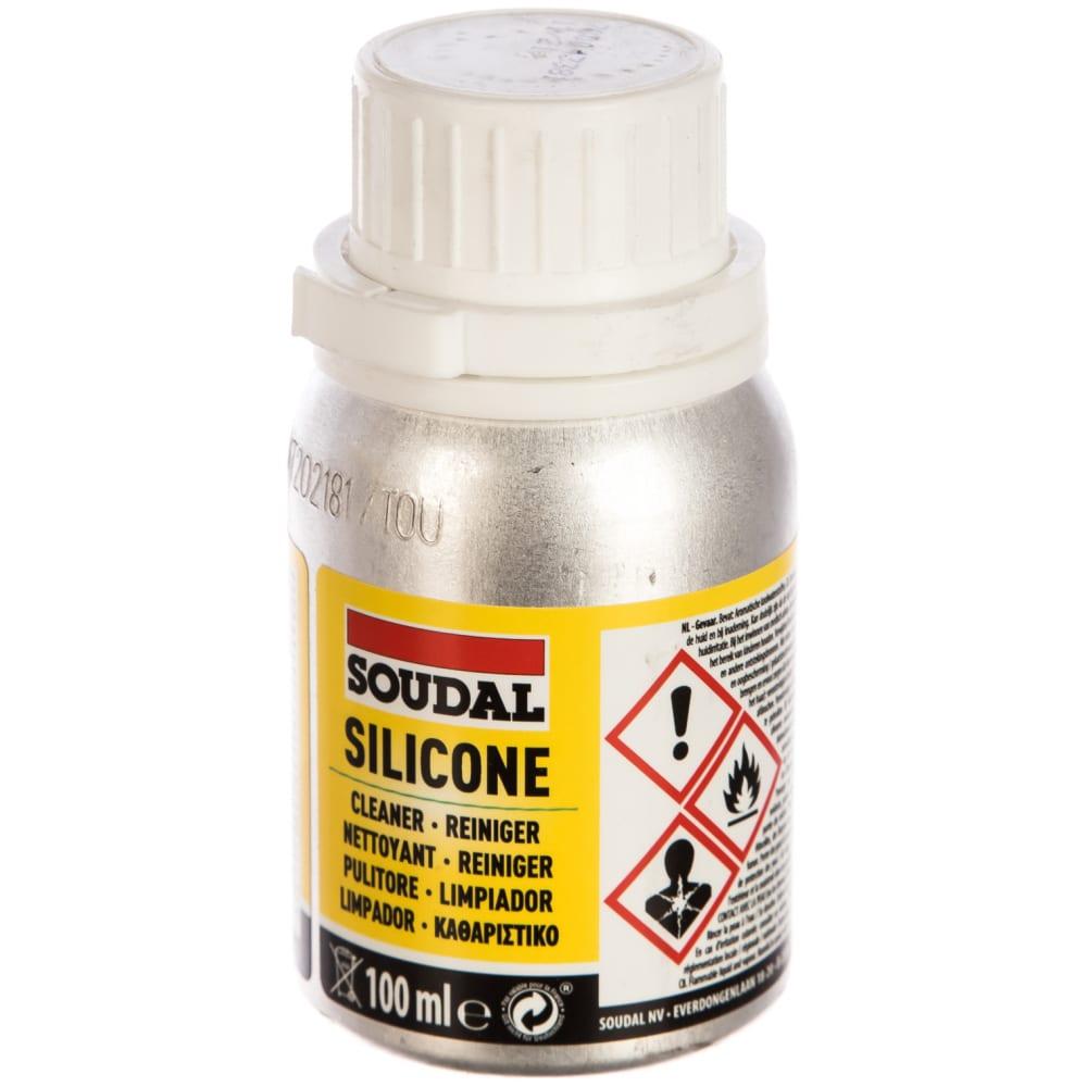 Очиститель силикона soudal 104452