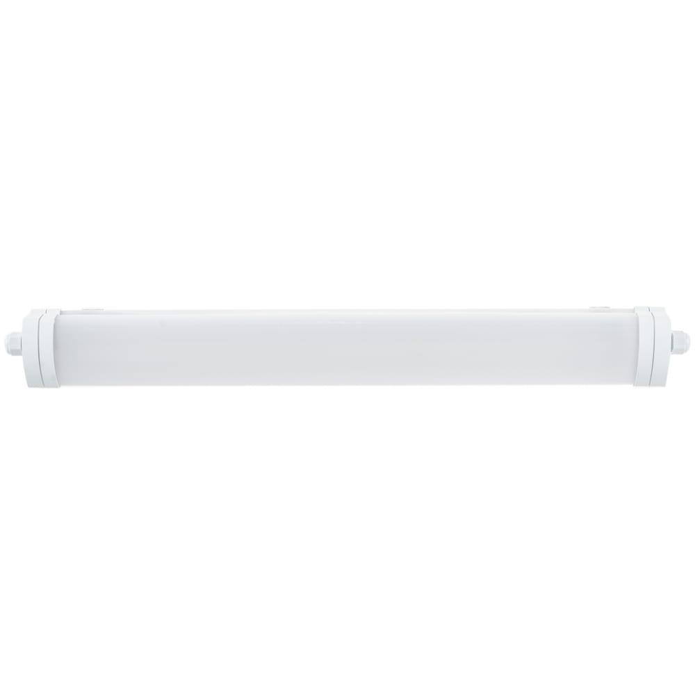 Светодиодный светильник gauss ip65 570х60х55 мм 18вт 1200лм 4000к 843424218