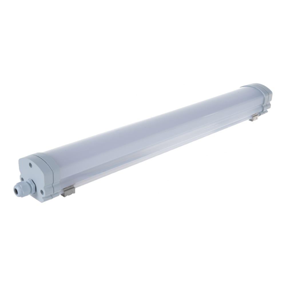 Светодиодный светильник gauss ip65 570х60х55 мм 18вт 1230lm 6500к 843424318