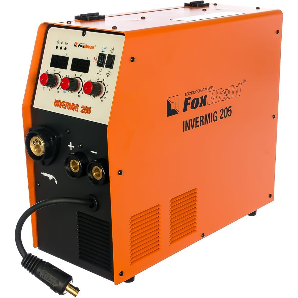 Сварочный полуавтомат foxweld invermig 205 6378.