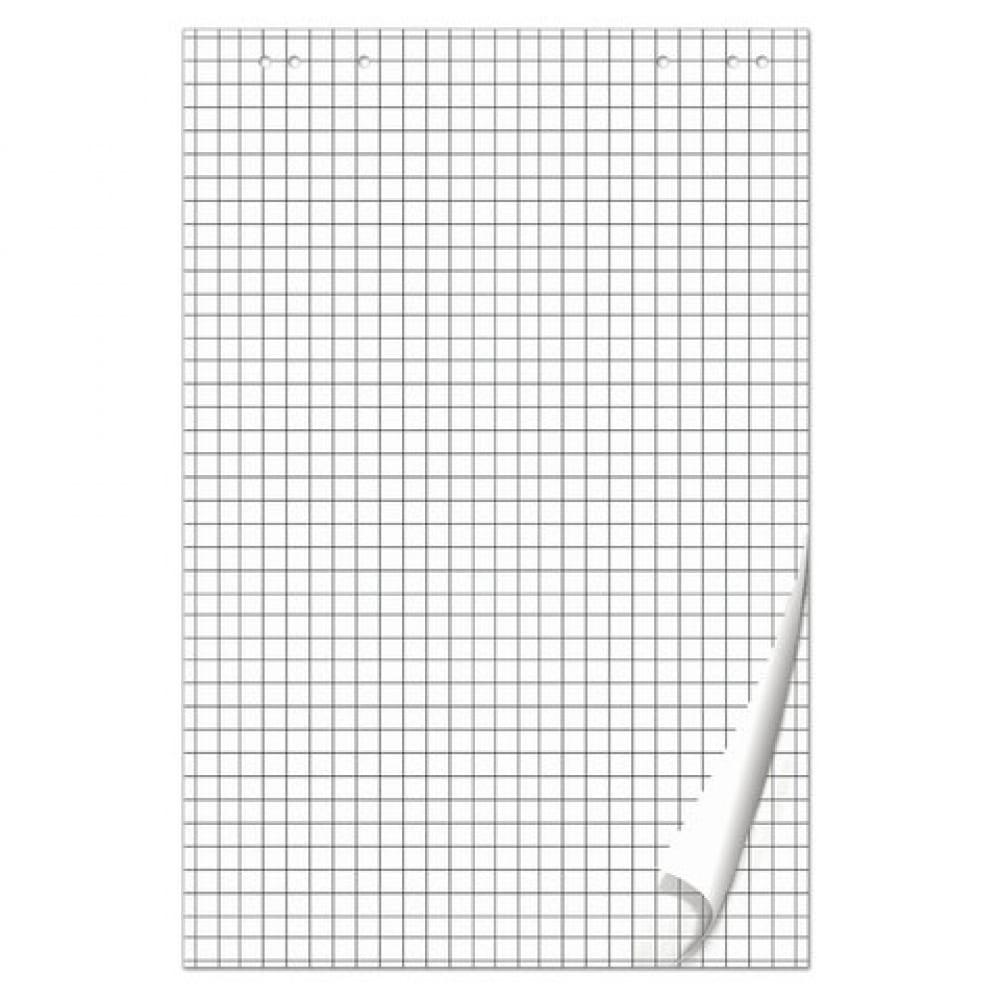 Блокнот для флипчарта, 50 листов, клетка, 67, 5х98 см, 80 г/м2, brauberg 128647  - купить со скидкой