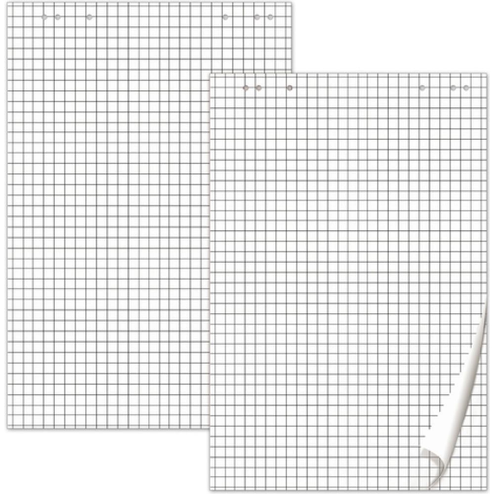 Купить Блокноты для флипчарта, комплект 5 шт., 20 л., клетка, 67, 5х98 см, 80 г/м2, brauberg 124097