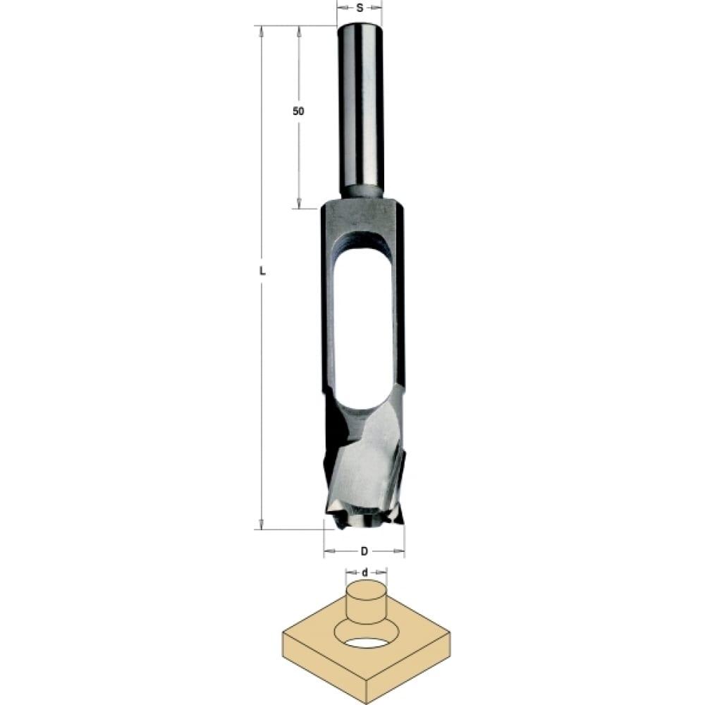 Сверло пробочник sp 30/42x140 мм, z=5, s=13