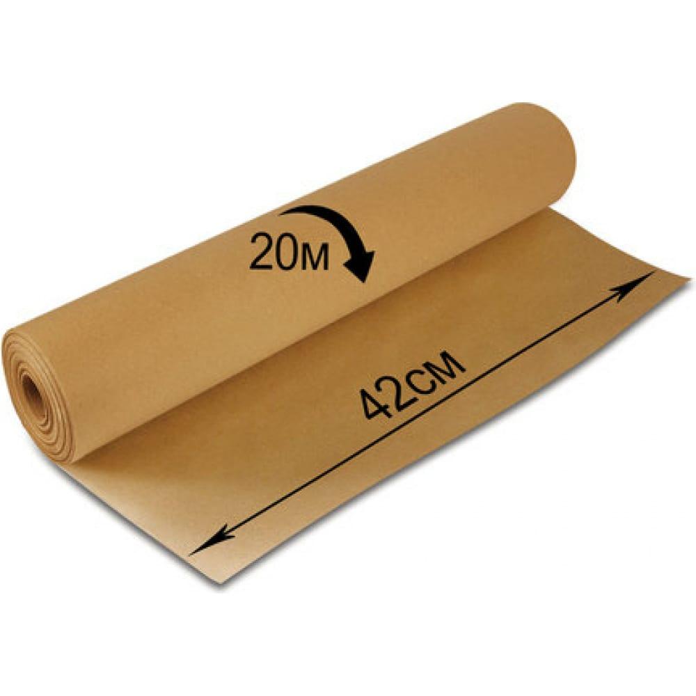 Крафт бумага в рулоне, 420 мм