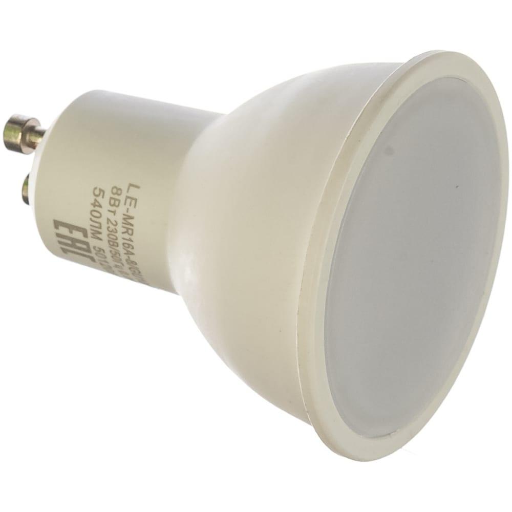 Купить Светодиодная лампа наносвет le-mr16a-8/gu10/927, 8вт, gu10, 100 град, 560 лм, 2700к, ra90, l188
