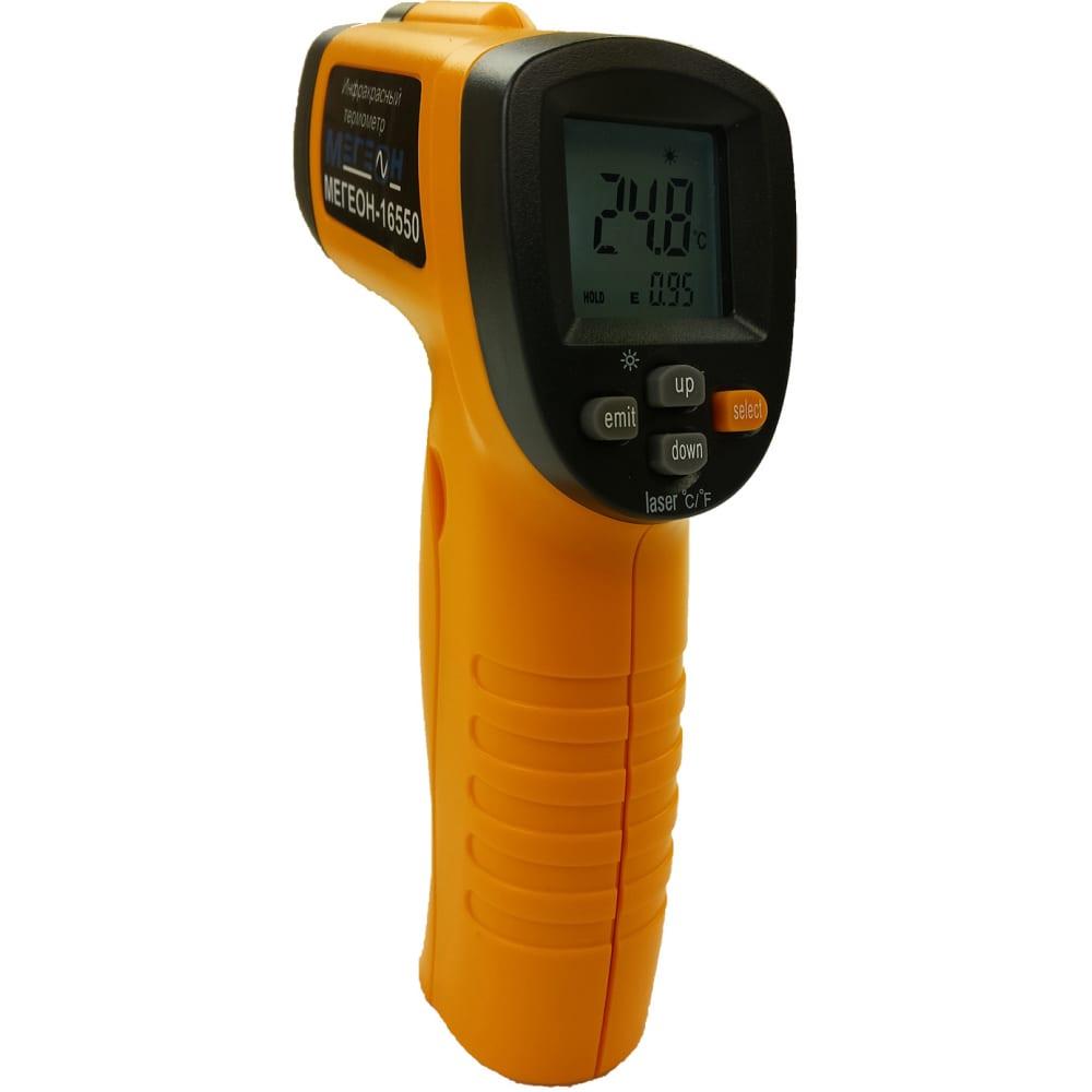 Лазерный измеритель температуры мегеон 16550 00000002235