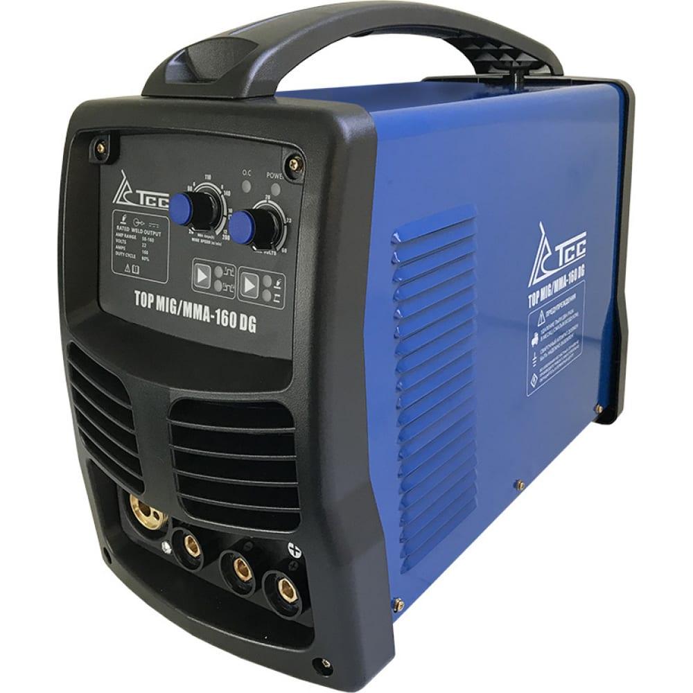 Сварочный инвертор тсс top mig/mma-160 dg 022641.