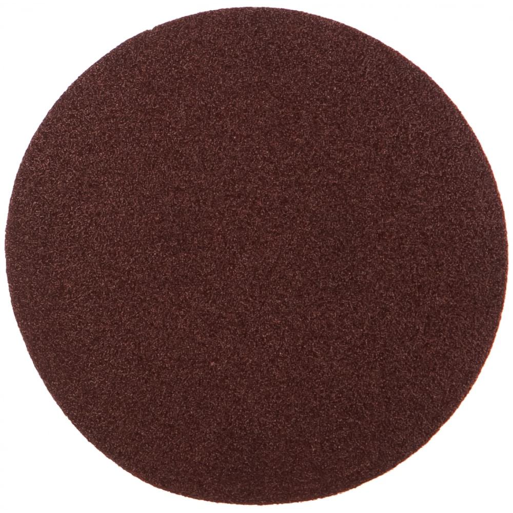 Купить Круг абразивный на ворсовой подложке под липучку (10 шт; 115 мм; p80) matrix 73825
