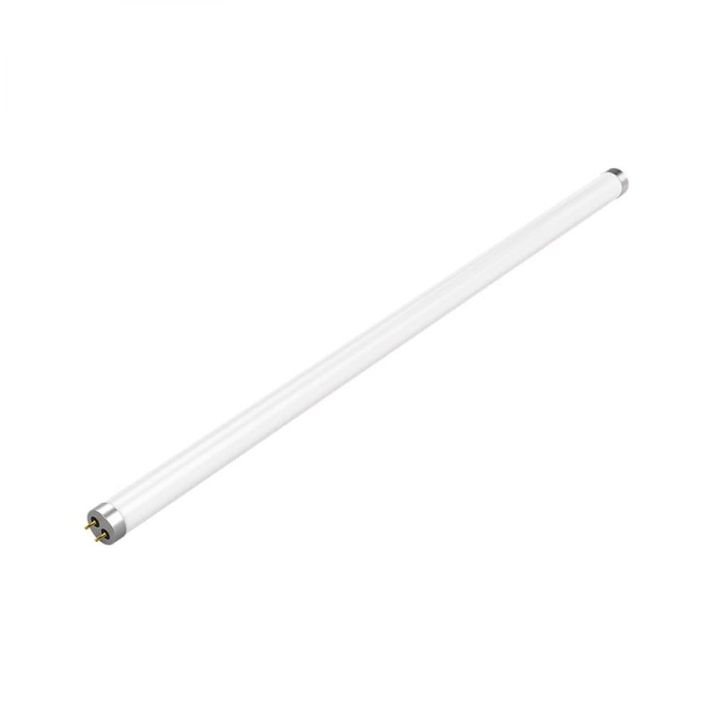 Лампа gauss led elementary t8 glass 600mm g13 10w 4000k 1/25 sq93020